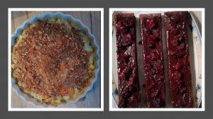 Pastinakenauflauf & Schokokuchen