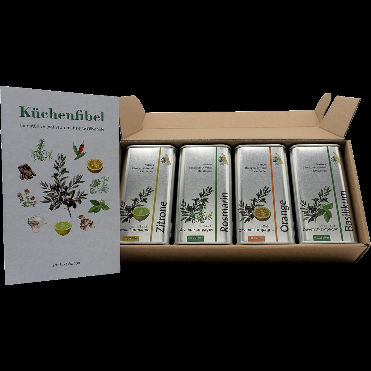 Bio Olivenöl Aromaset