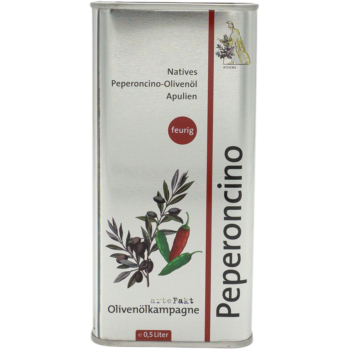 Bio Peperoncino-Olivenöl, nativ