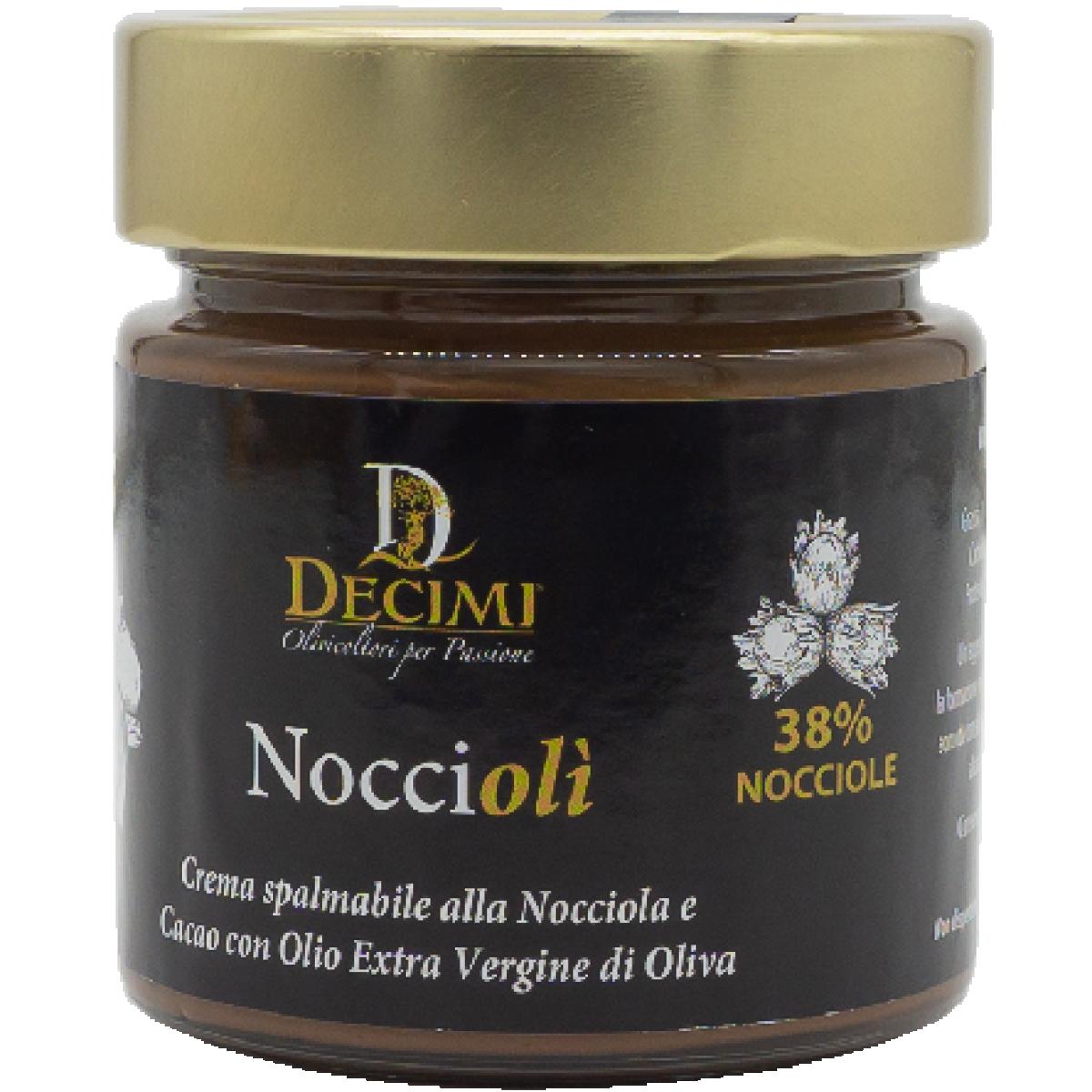 Haselnuss-Olivenöl-Creme, 250g Glas