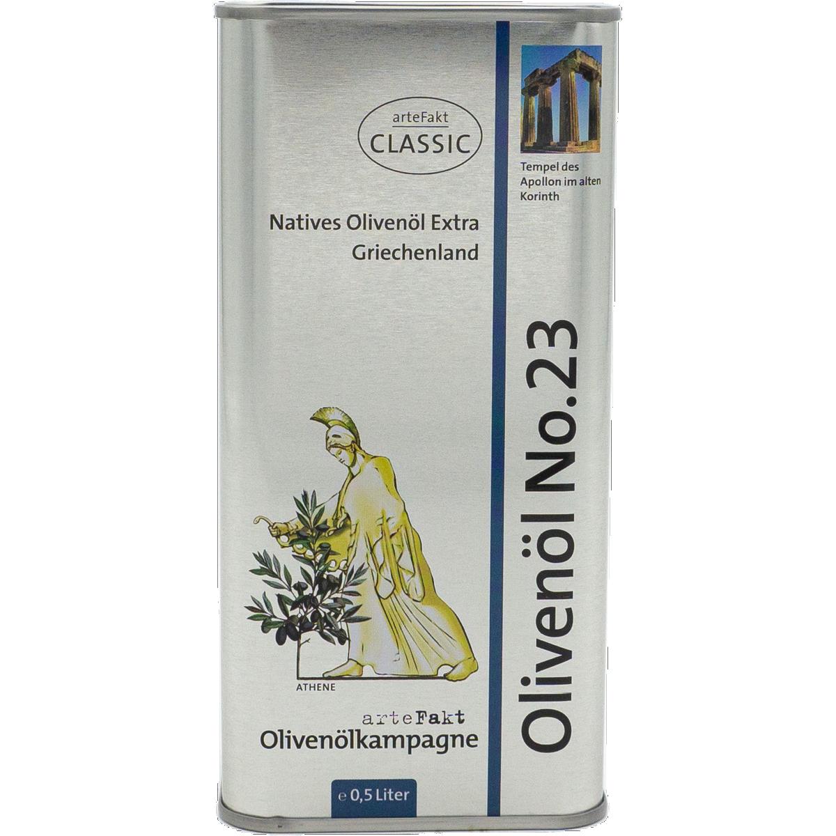 Bio Olivenöl No 23; Korinth