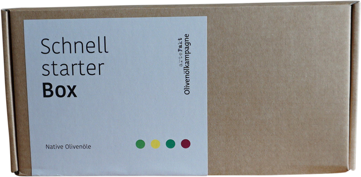 Bio Olivenöl Schnellstarter-Box