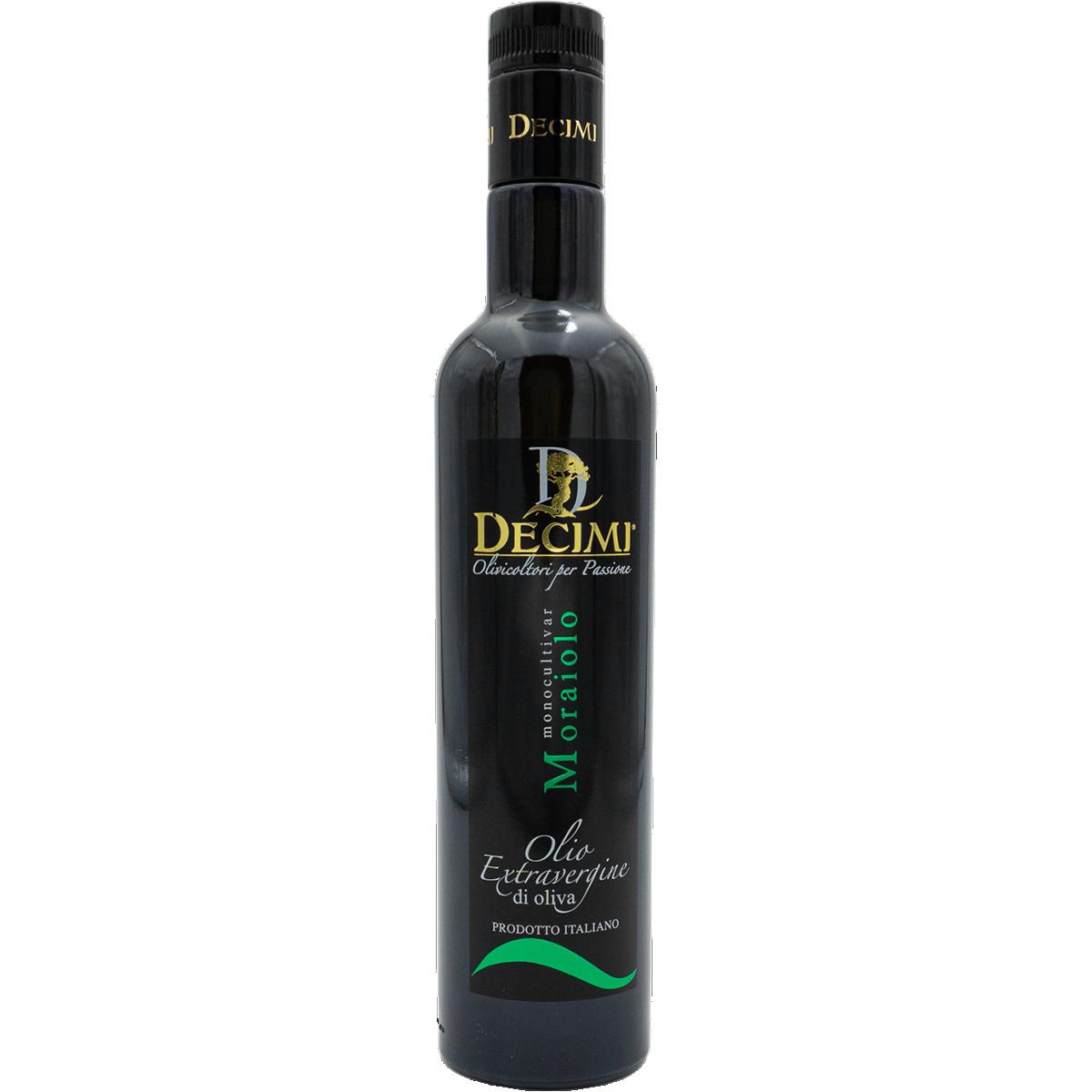 Olivenöl Moraiolo; Umbrien