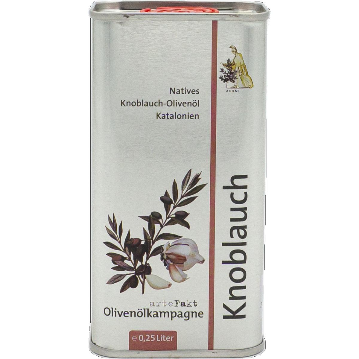 Bio Knoblauch-Olivenöl, nativ
