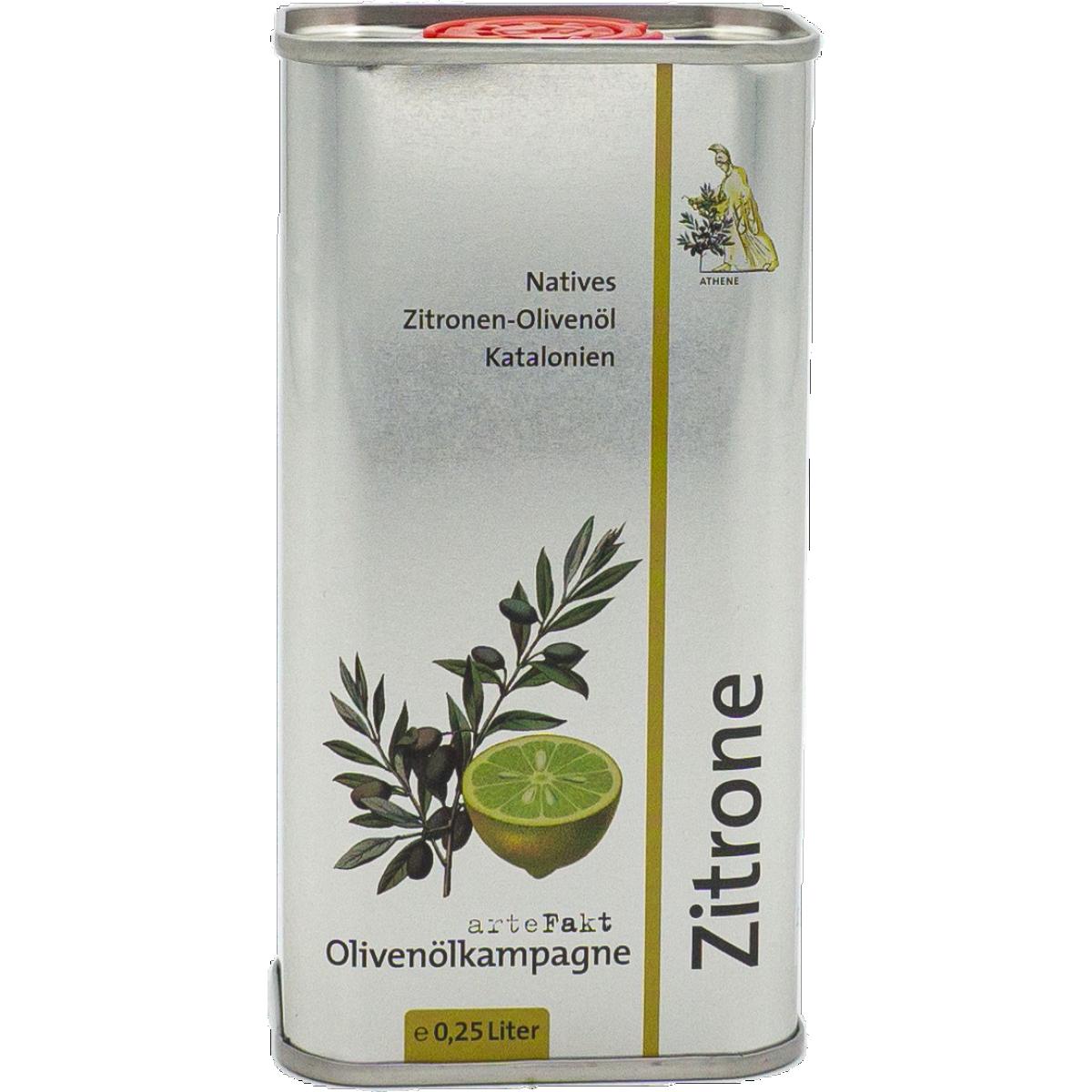 Bio Zitronen-Olivenöl; nativ