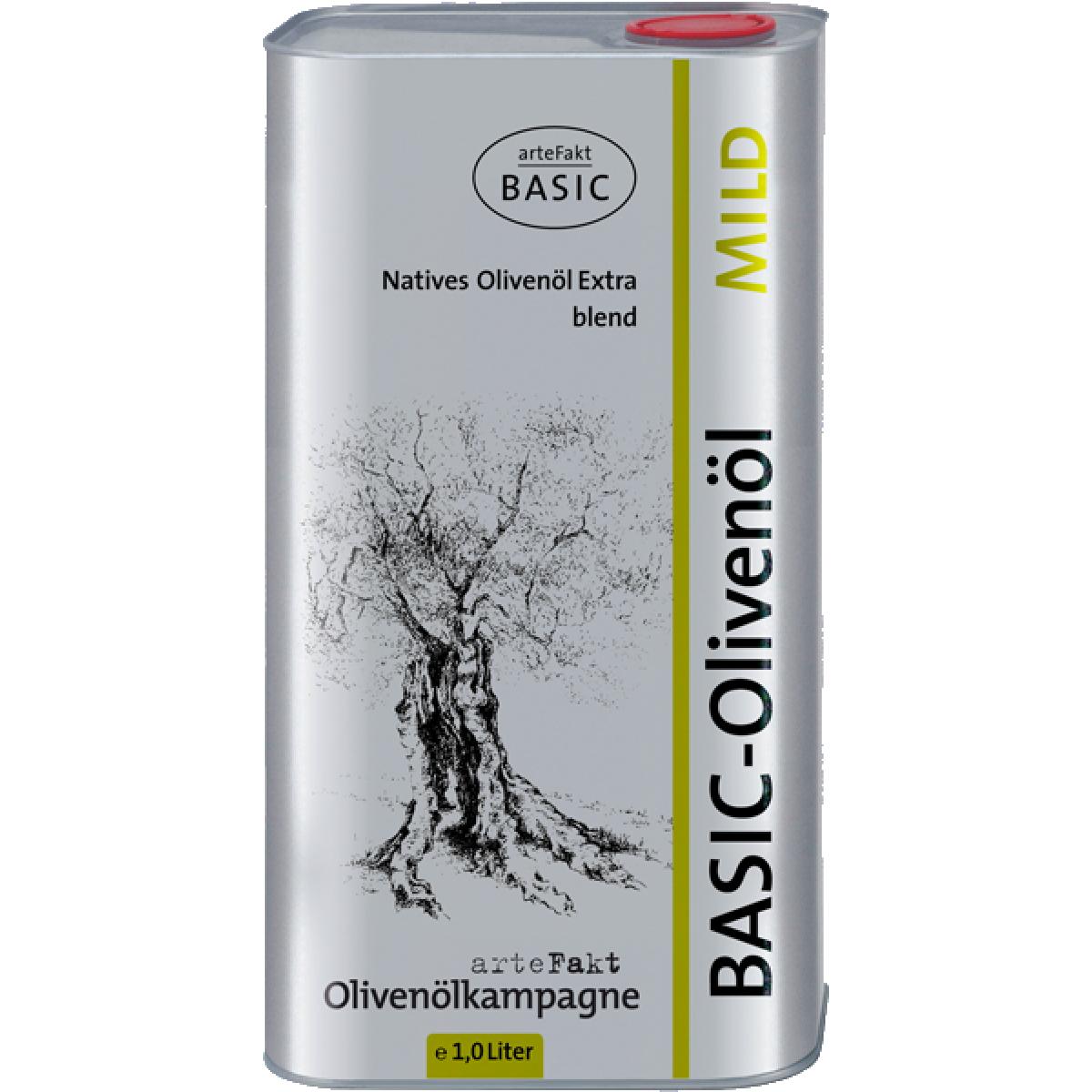 Olivenöl BASIC Mild