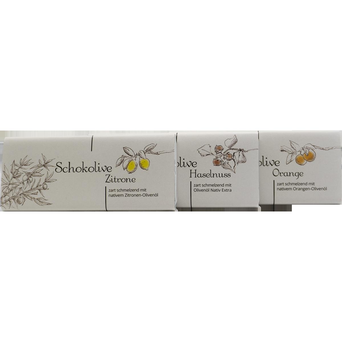 Schokolive - Schokolade mit Olivenöl