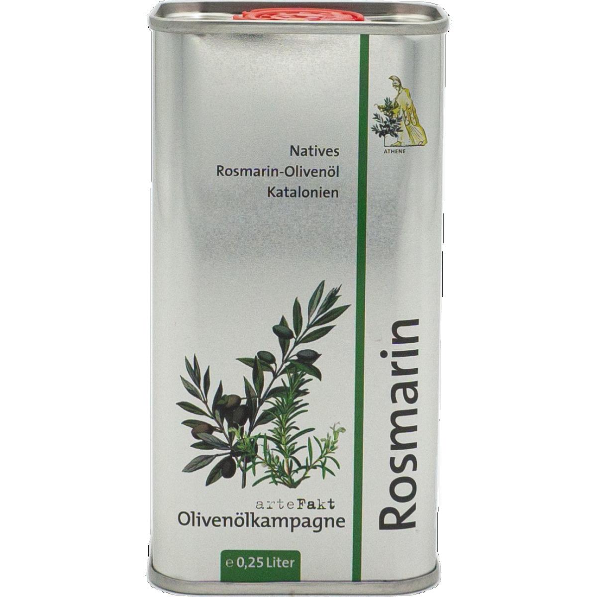Bio Rosmarin-Olivenöl, nativ