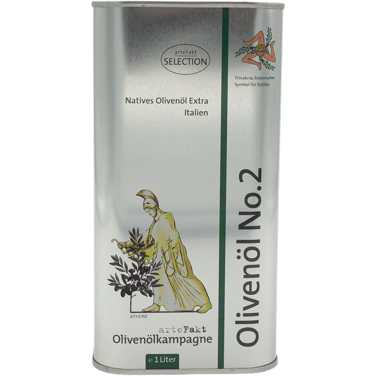 Bio Olivenöl Nativ Extra No 2; Sizilien