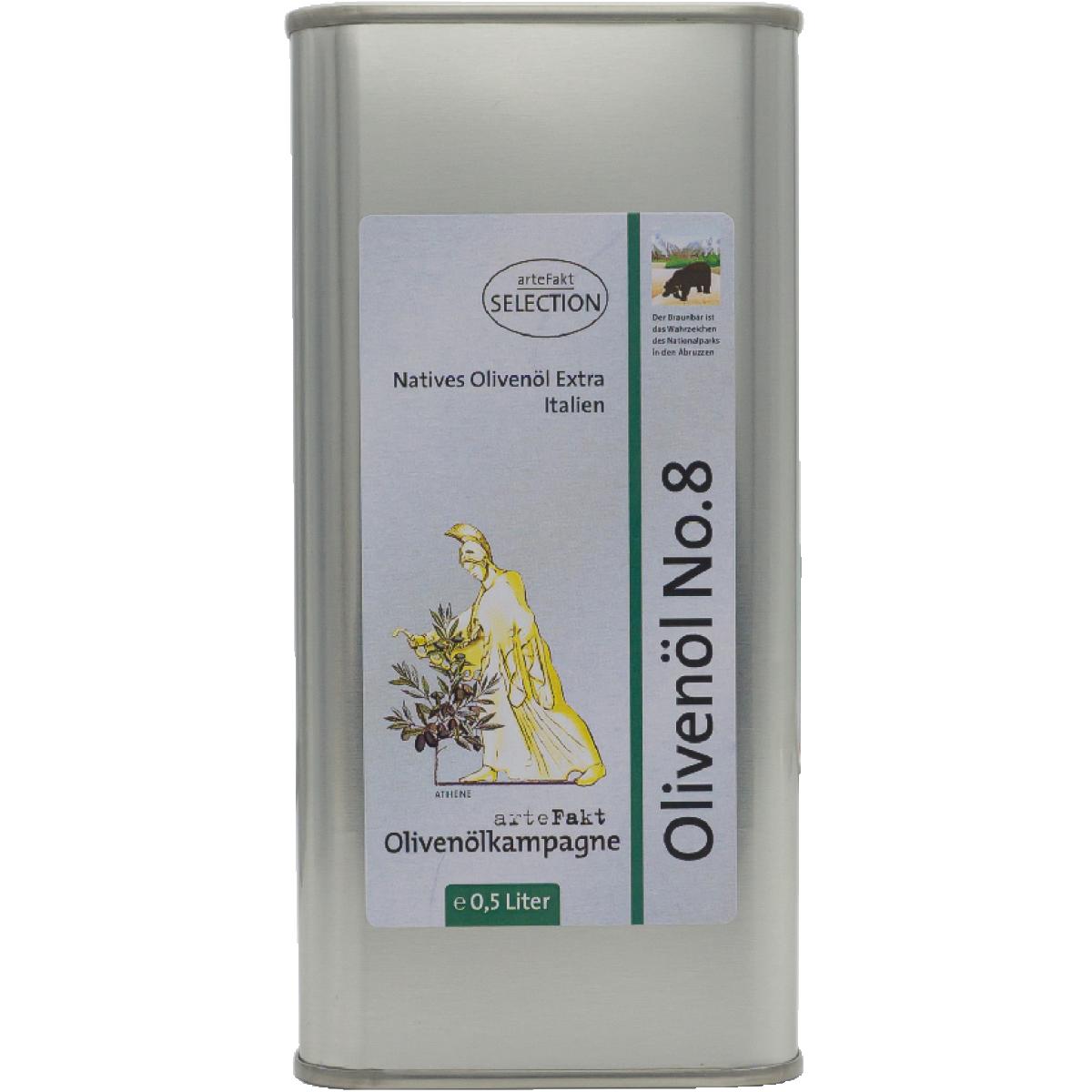 Olivenöl No 8; Abruzzen